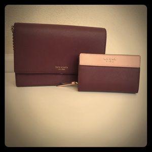 Kate Spade Cameron Crossbody Bag & Wallet NEW